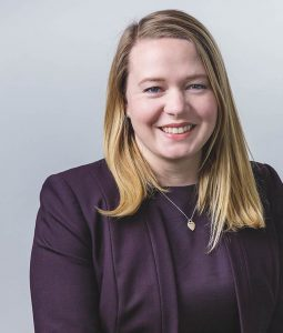 Lawyer Laura McFarlane