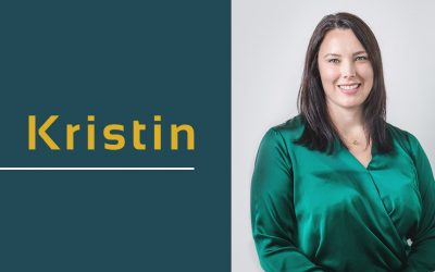 Kristin White has joined the team